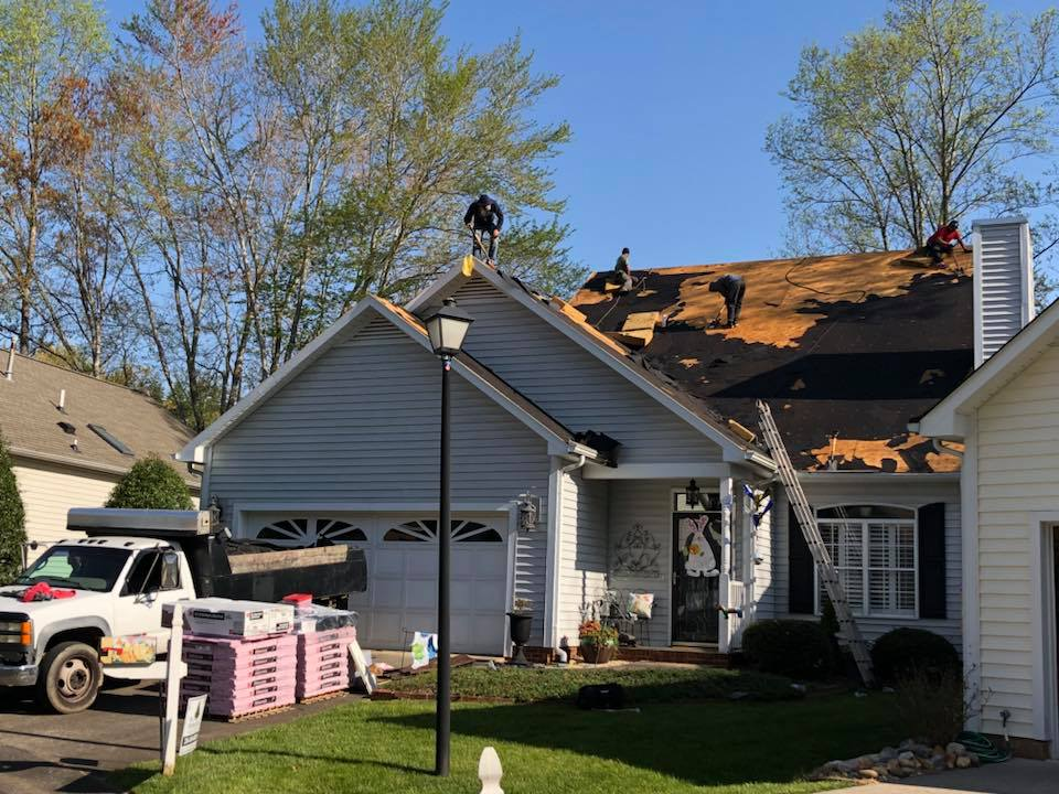 Shingles Roof Replacement in Winston-Salem, North Carolina